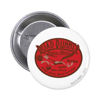 ROAD RUNNER™ Drive Thru 2 6 Cm Round Badge