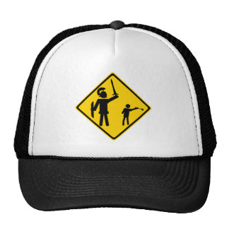 Road Sign David and Goliath Hats