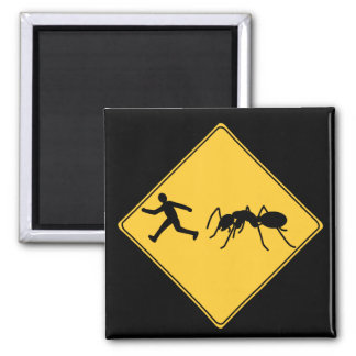 Road Sign- Giant Ant Magnet
