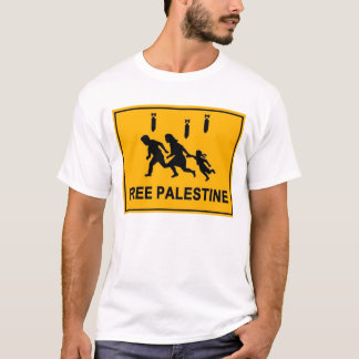 Road Sign Palestine T-Shirt