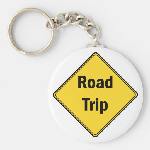 Road Sign- Road Trip Keychains