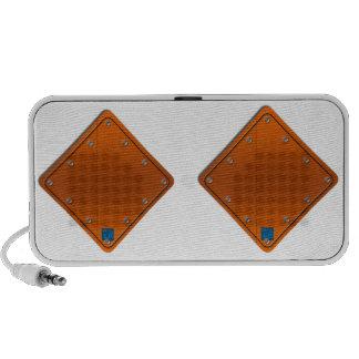 Road Sign Laptop Speakers