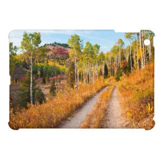 Road Through Autumn Colors iPad Mini Cover
