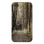 Road through the forest iPhone 4/4S cases