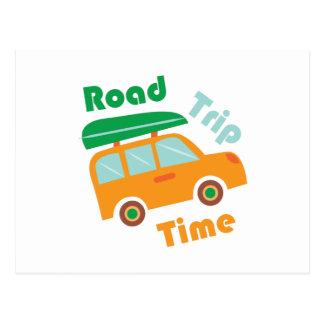 Road Time Postcard
