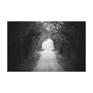 Road to a new day canvas prints