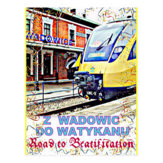 Road to Beatification Postcard