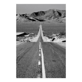 Road To Death Valley Print