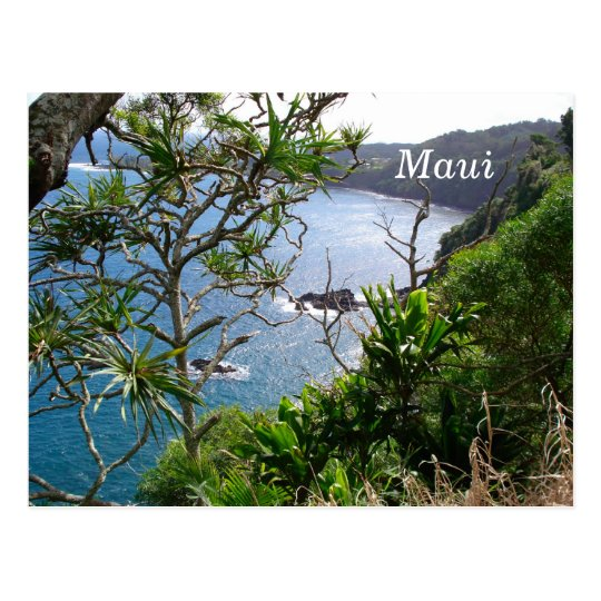 Road to Hana, Maui, Hawaii Postcard