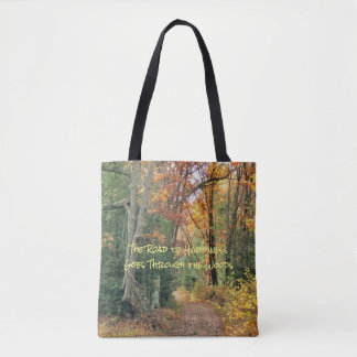 Road to Happiness Tote