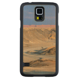 Road To Homeb Through Desert, Namib-Naukluft Carved Maple Galaxy S5 Case