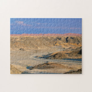 Road To Homeb Through Desert, Namib-Naukluft Jigsaw Puzzle