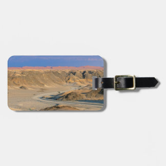 Road To Homeb Through Desert, Namib-Naukluft Luggage Tag