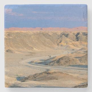 Road To Homeb Through Desert, Namib-Naukluft Stone Coaster