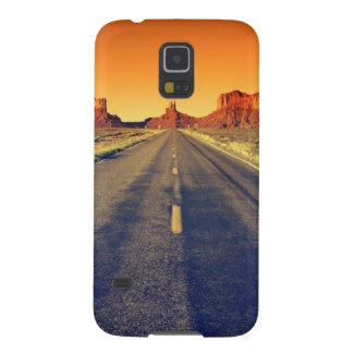 Road To Monument Valley At Sunset Galaxy S5 Cover