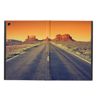 Road To Monument Valley At Sunset iPad Air Cover