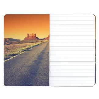 Road To Monument Valley At Sunset Journals