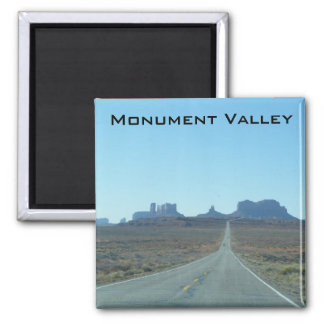 Road to Monument Valley Square Magnet