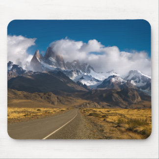 Road To Mount Fitzroy, Patagonia Mouse Mat