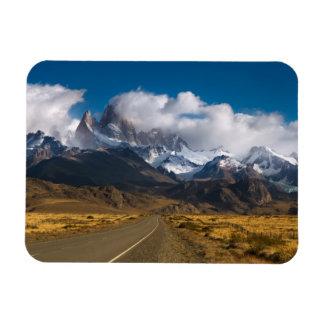 Road To Mount Fitzroy, Patagonia Rectangular Photo Magnet