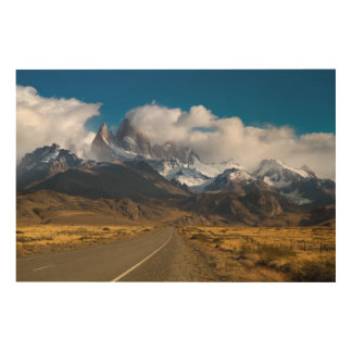 Road To Mount Fitzroy, Patagonia Wood Wall Art