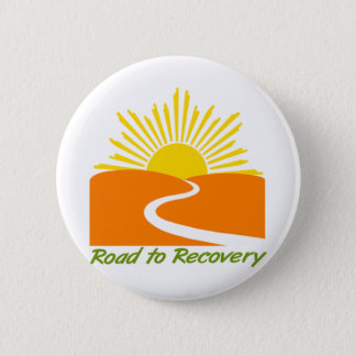 Road to Recovery Gear 6 Cm Round Badge
