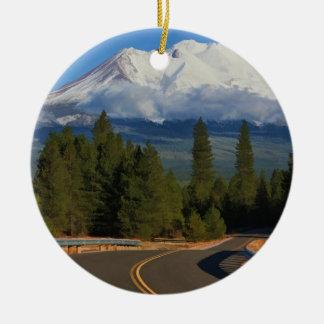 ROAD TO SHASTA CHRISTMAS ORNAMENT