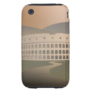Road to the Colosseum, Rome, Italy iPhone 3 Tough Case