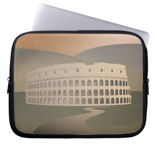 Road to the Colosseum, Rome, Italy Laptop Sleeve