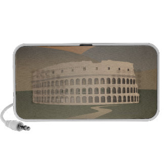 Road to the Colosseum, Rome, Italy Speaker System