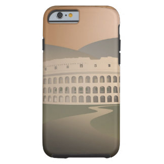 Road to the Colosseum, Rome, Italy Tough iPhone 6 Case