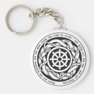 Road to Truth Dharma Wheel Key Ring