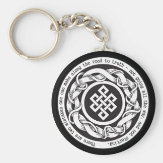 Road to Truth Endless Knot Keychains