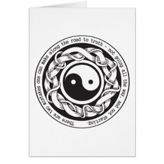 Road to Truth Yin Yang Card