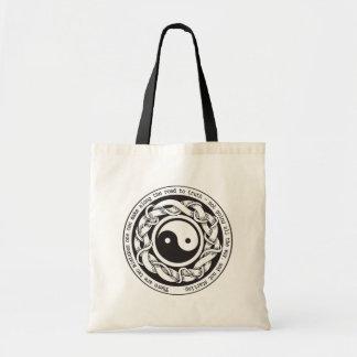 Road to Truth Yin Yang Tote Bag