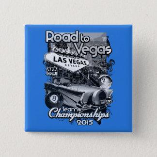 Road to Vegas 2015 15 Cm Square Badge