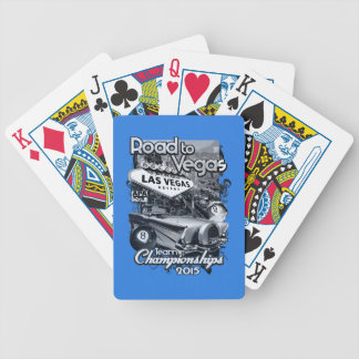 Road to Vegas 2015 Bicycle Playing Cards