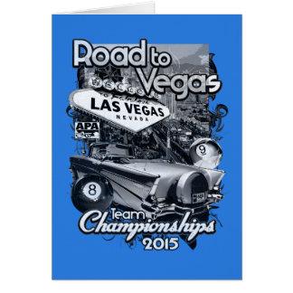 Road to Vegas 2015 Card