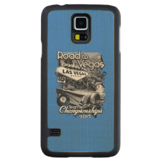 Road to Vegas 2015 Carved Maple Galaxy S5 Case