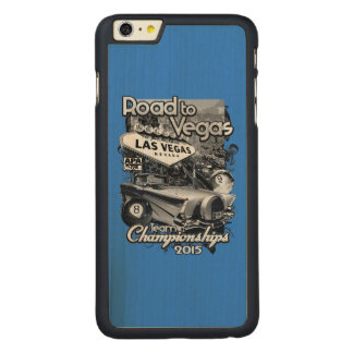 Road to Vegas 2015 Carved Maple iPhone 6 Plus Case