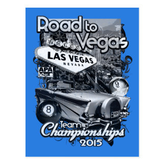 Road to Vegas 2015 Postcard