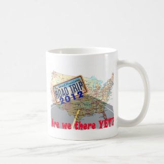 Road Trip 2012 - Are We There Yet? Basic White Mug