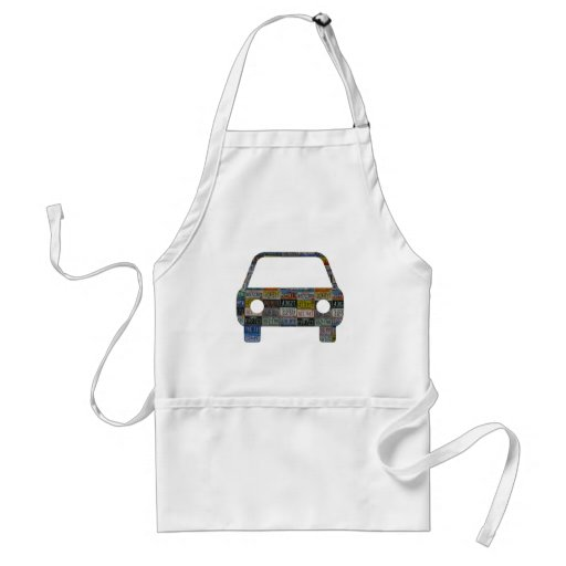 Road trip across the country aprons