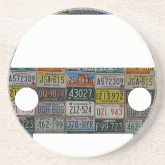 Road trip across the country drink coasters