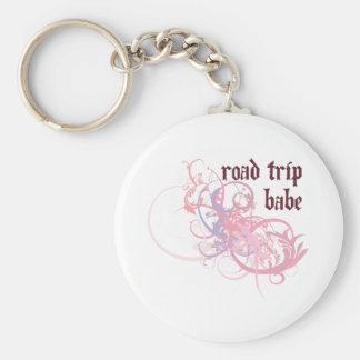 Road Trip Babe Key Chains