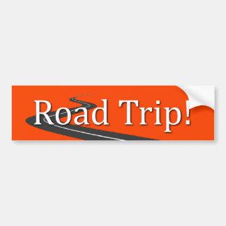 Road Trip Bumper Sticker