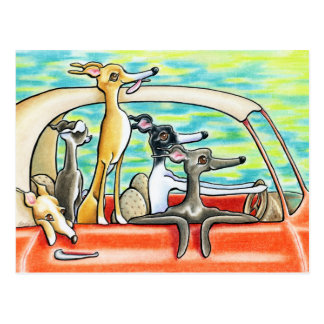 Road Trip by Andie Postcard