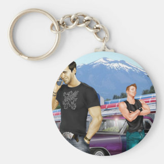 Road Trip by Joe Phillips Basic Round Button Key Ring