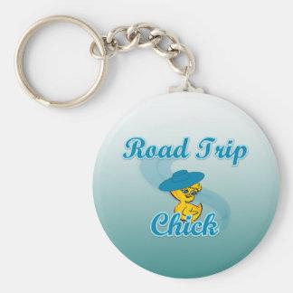 Road Trip Chick #3 Key Chain