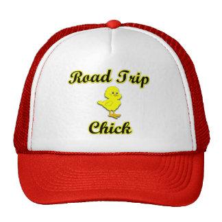 Road Trip Chick Mesh Hats